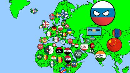 Map by: Polandball Mapper