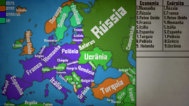Mapa da Europa-png