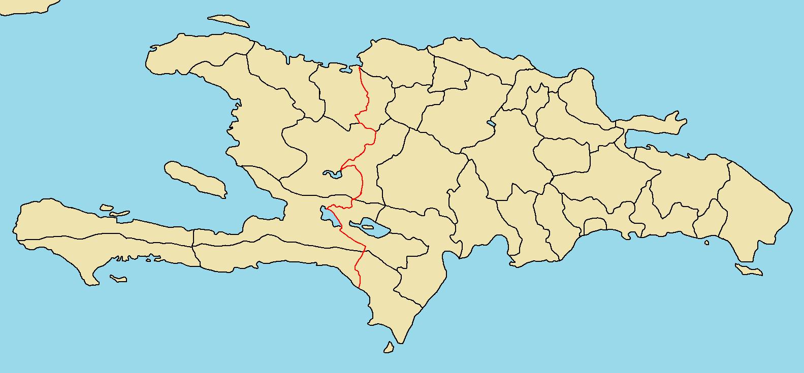 Map Of Hispaniola Image   Province Map of Hispaniola.png   TheFutureOfEuropes Wiki  Map Of Hispaniola