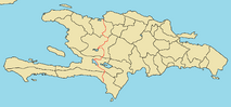 Province Map of Hispaniola