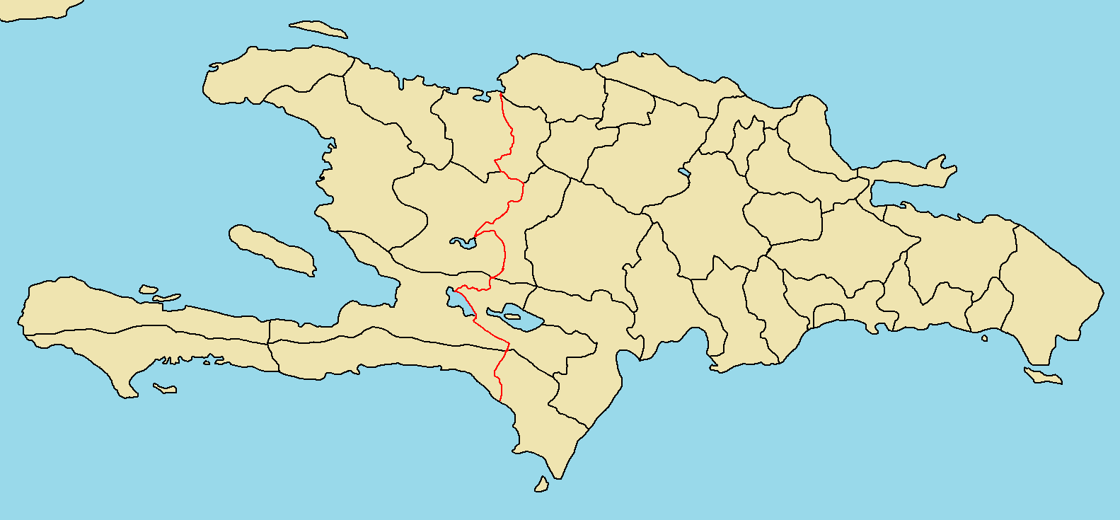 province map of hispaniolapng