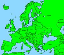 Europe (finn mapper)