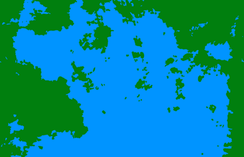 Map of Kepler-22b