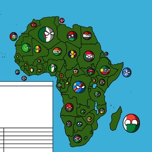 Isolated Africa