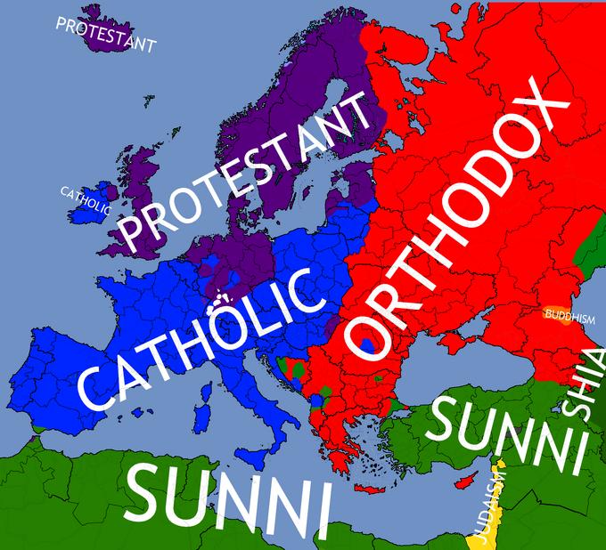 Religionmap
