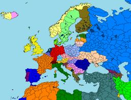 Alternate Map OF EuropeToday