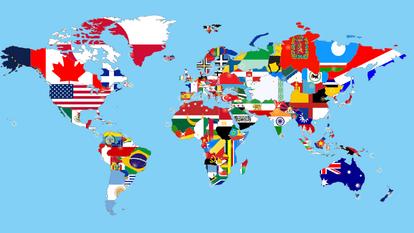 Alternate flag map