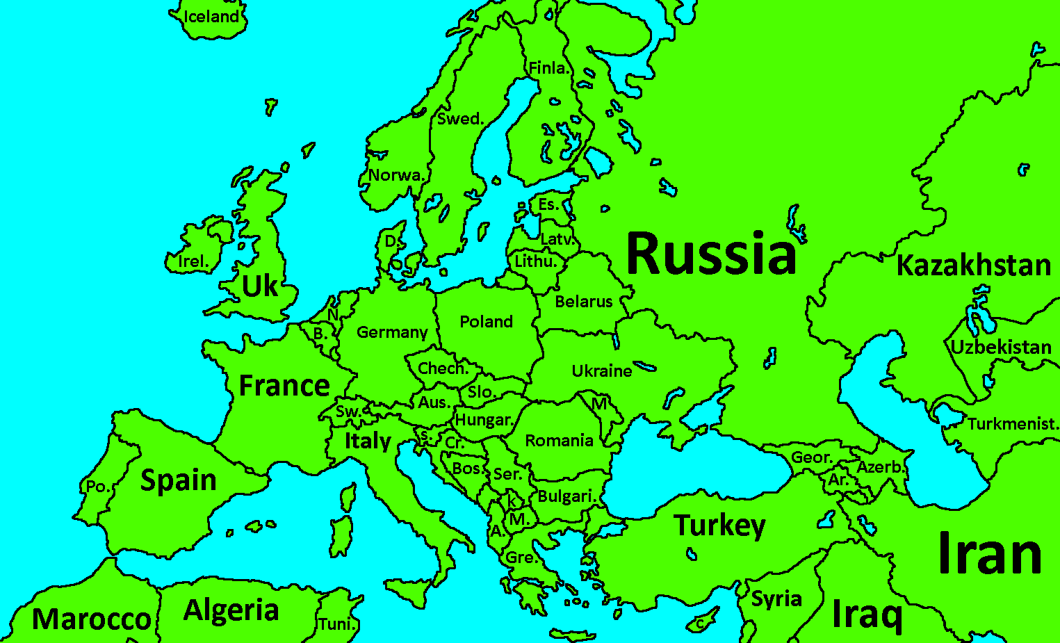 map of europe by slime mapperpng