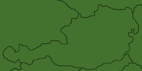 Blank Map of Austria