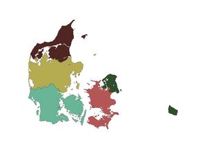 DanmarksRegioner