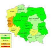 My opinion on Polish voivodeships