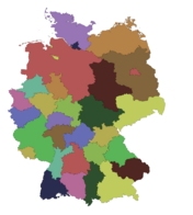 DeutschlandRegierungsbezirke