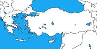 Blank map of greece and turkey by dinospain-d85oij5