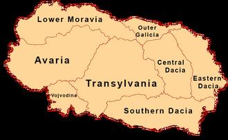 Ek regions names
