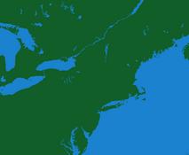Northeast USA (No Borders)