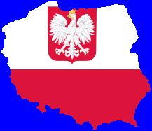 Poland flagmap