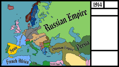 Europe 1914 (with Names)