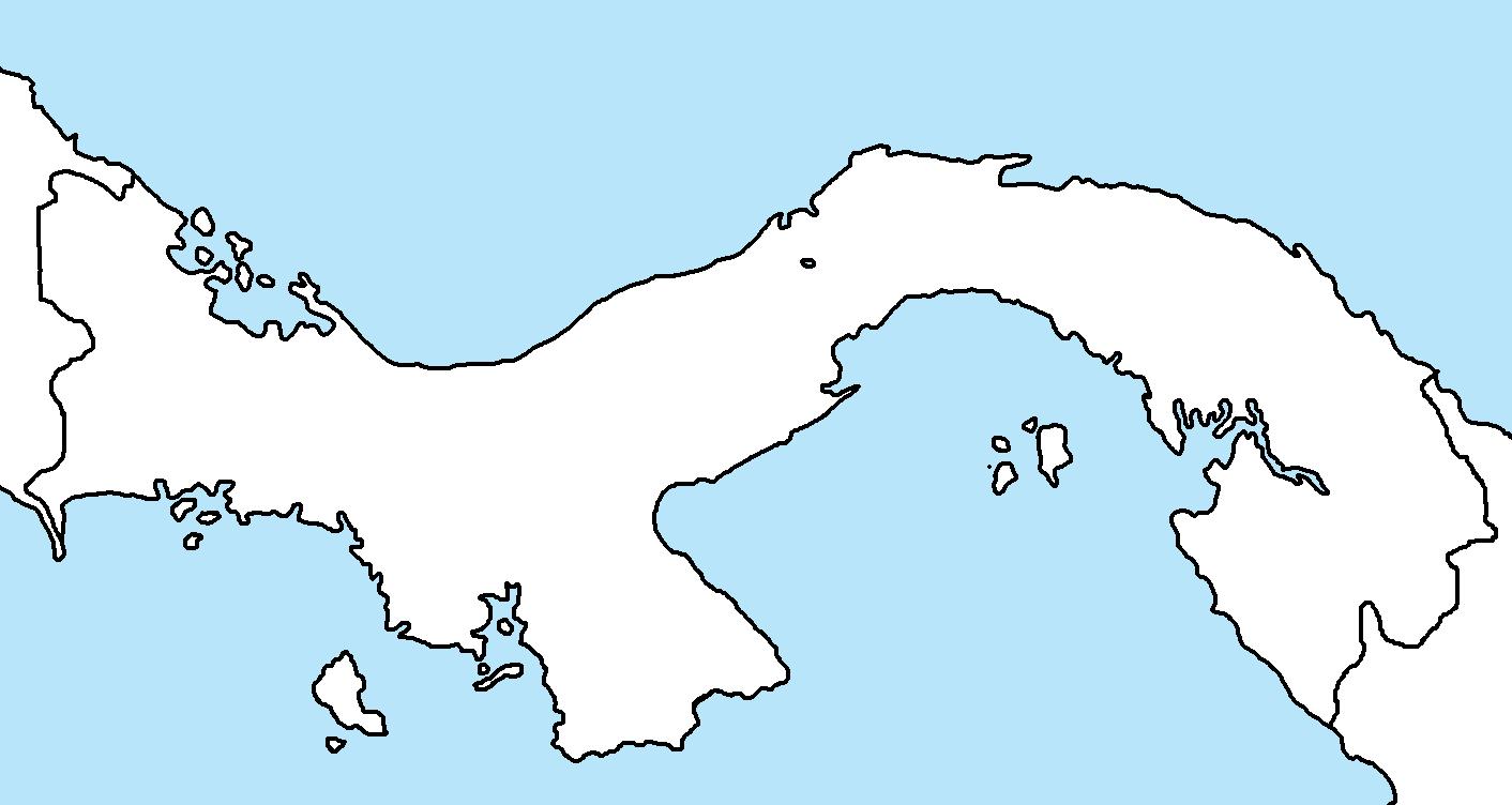panama blank mappng. image  panama blank mappng  thefutureofeuropes wiki  fandom