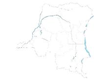 DRC blank map