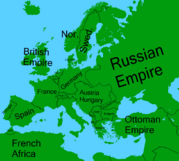Europe 1914 w names