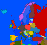 Europe map (finished)