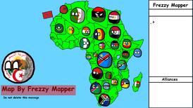 Moja Mapa XD Africa map
