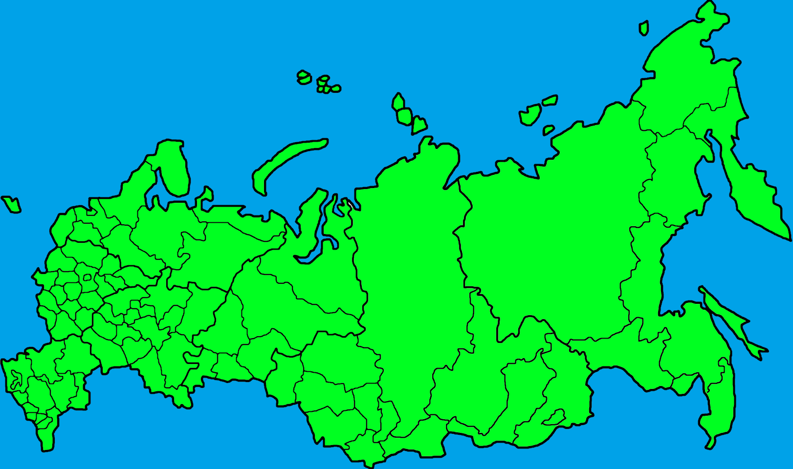 Image - Russia map.png | TheFutureOfEuropes Wiki | FANDOM powered by ...