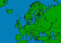 Europe Map KEK