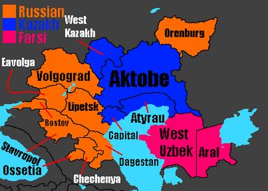 Astonia regions