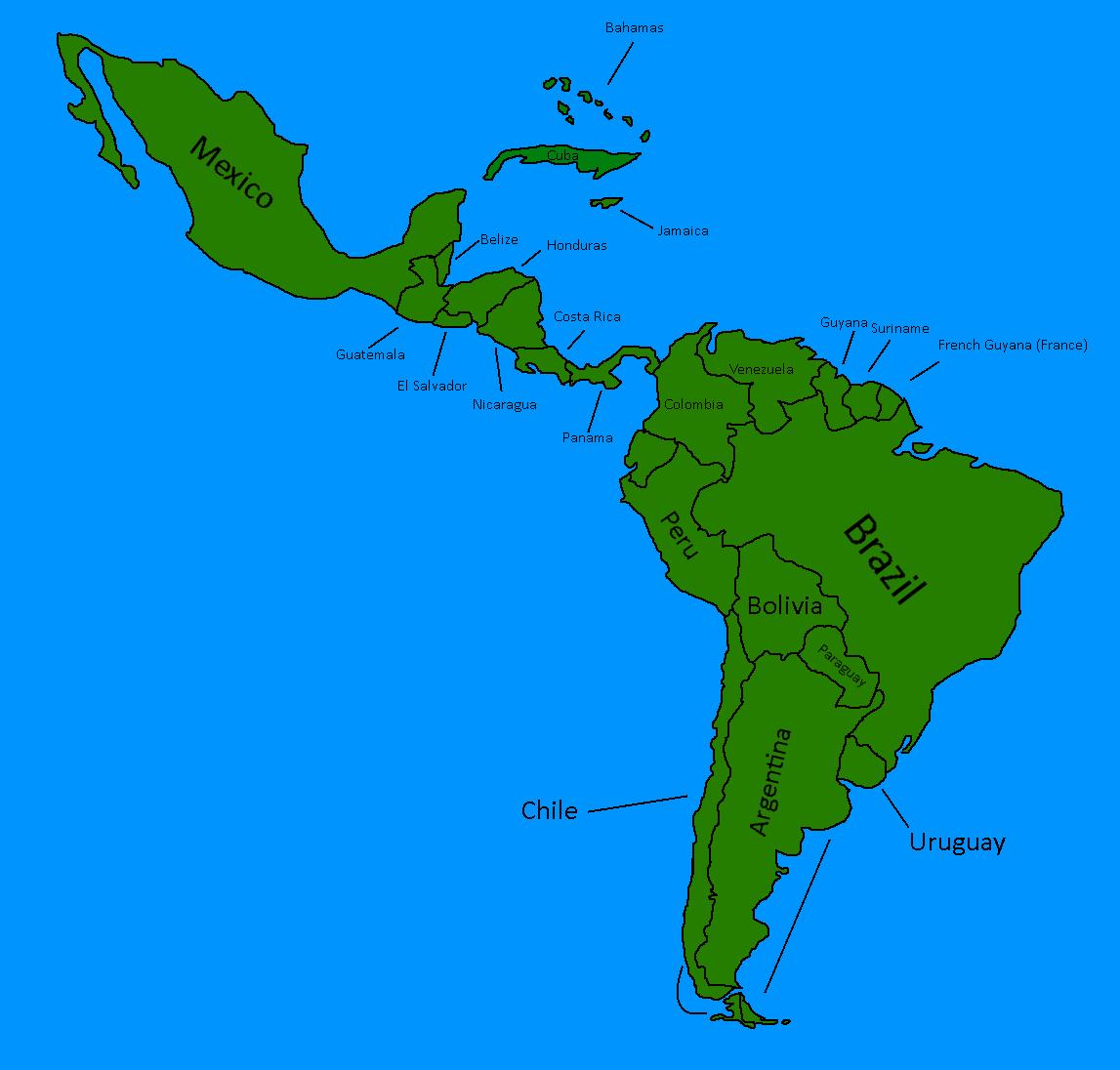 Image  Latin america mappng  TheFutureOfEuropes Wiki  FANDOM