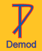 Demod logo from April 2014