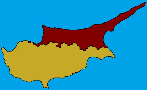 Image Cyprus Mappng TheFutureOfEuropes Wiki FANDOM Powered - Cyprus map png
