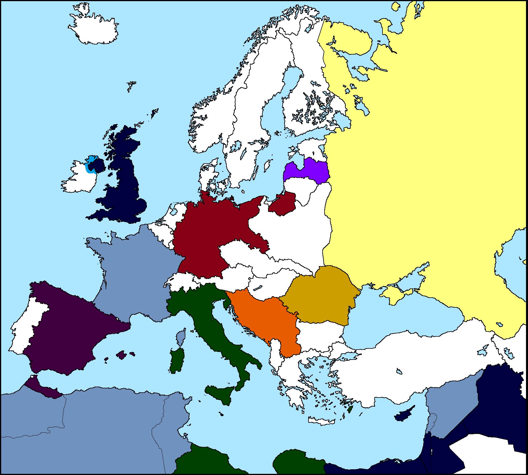 Empires Of Europe 1930 Thefutureofeuropes Wiki Fandom Powered