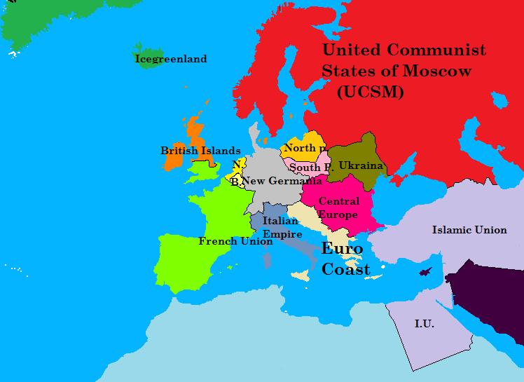 fan made europe mappng