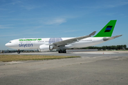 Arkkimerkkin plane with the skycon logo