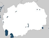 Blank FYROM Map