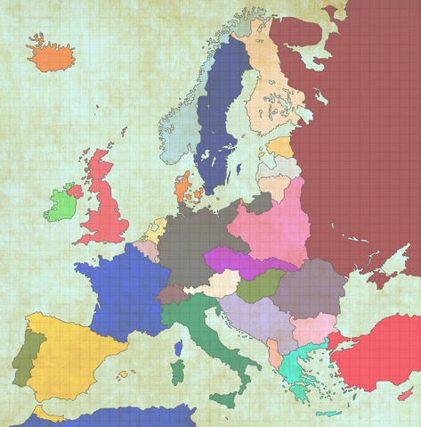 Image - Map of Europe Post WW1.png   TheFutureOfEuropes Wiki ...