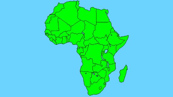 Africa Map Finn Mapper