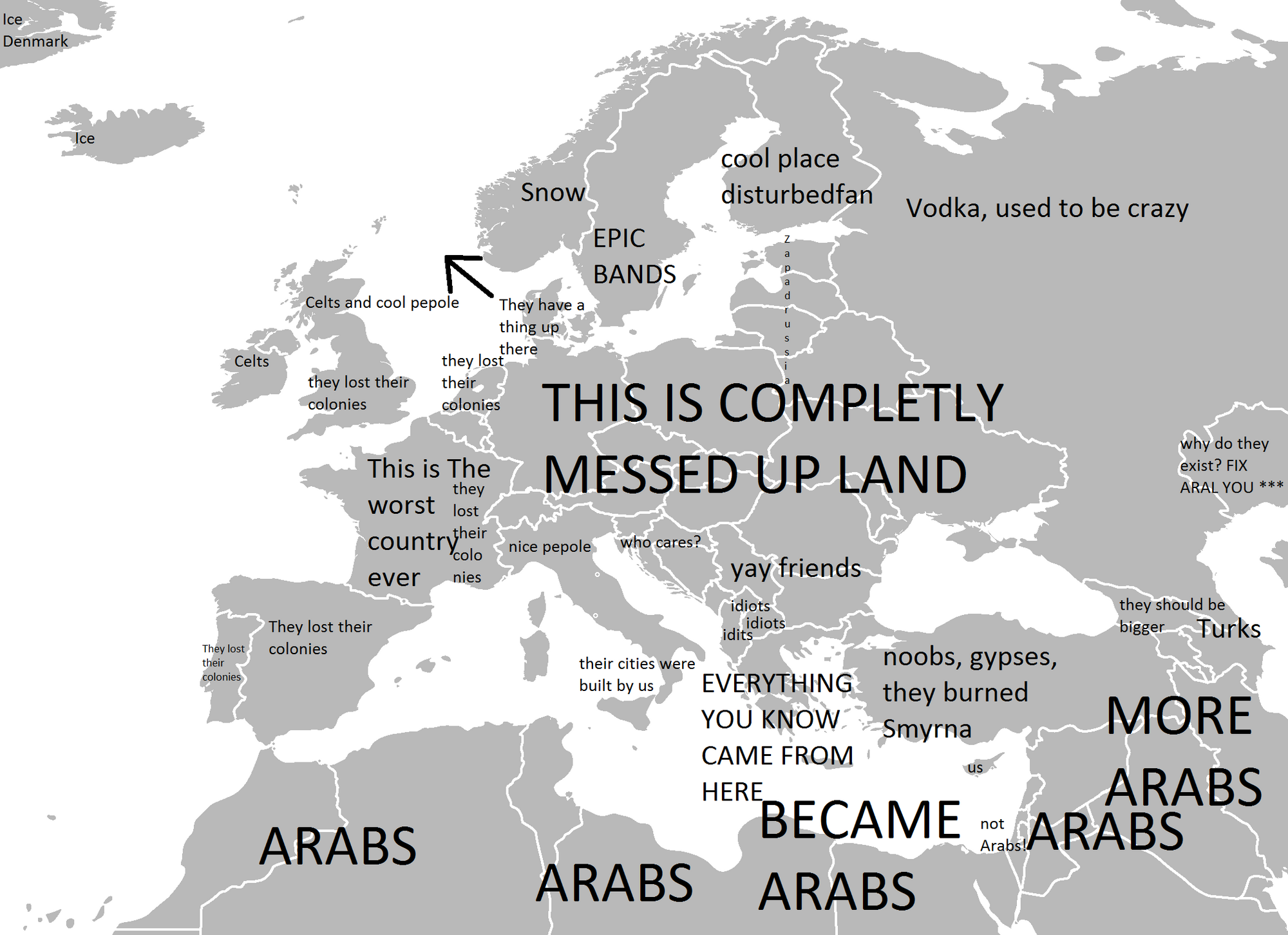 User Blog Zephyrus Mapping Europe According To A Pro Aka