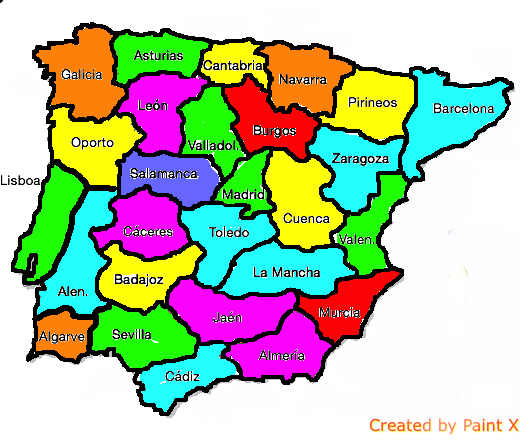 Conquer of Spain Map game | TheFutureOfEuropes Wiki | FANDOM