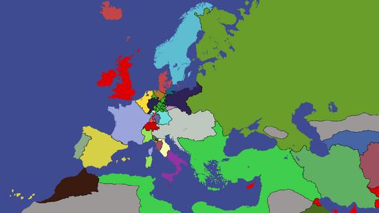 Congress of Vienna TheCroatianMapper edition