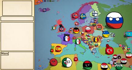Europe map by Polandmapper