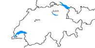 Switzerland Blank w/cities