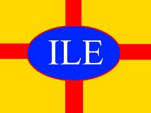 IKEA Lego flag