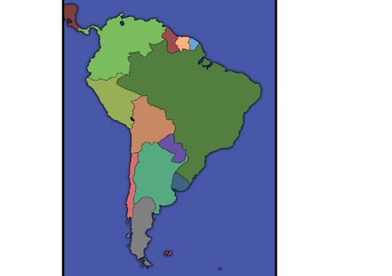 South murica 1830