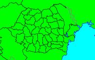 Romania Counties Map