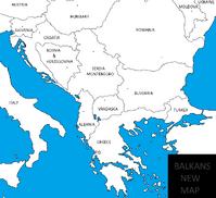 BALKAN MAP BIG GREEKMACEDONIANFIGHTERNEWMAPOFBALKANSREGION