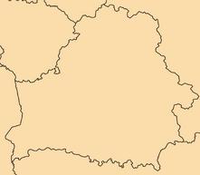Blank-Belarus-Map