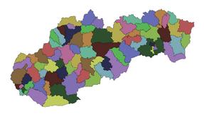 Slovensko okresy