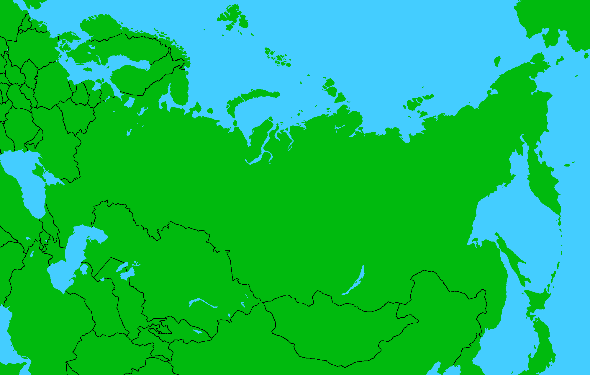 Image Russia Map No Colorpng TheFutureOfEuropes Wiki FANDOM - World map no colour